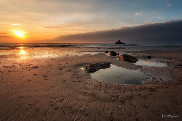 St Ouens Bay Sunset by happysnapper