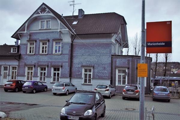Pre war Railway station Germany by gunner44