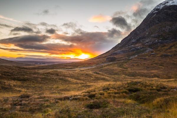 Sunrise in Glencoe by PMWilliams