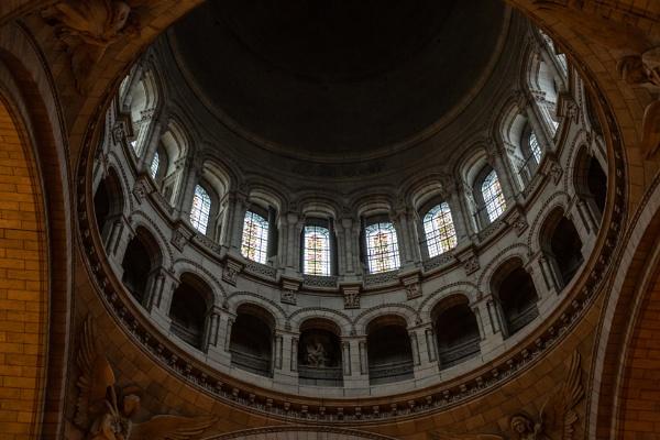 Interior of Basilique du Sacré-Cœur de Montmartre by rninov