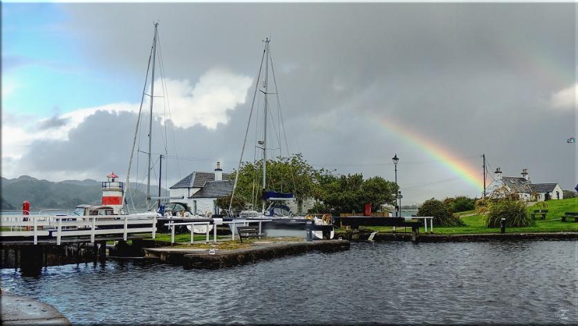Crinan Rainbow.