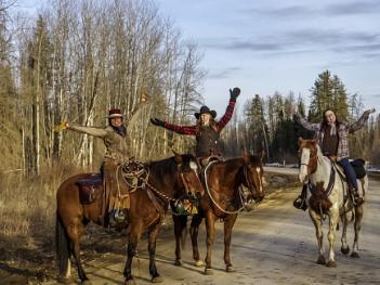 Cowgirls of Northern Alberta.