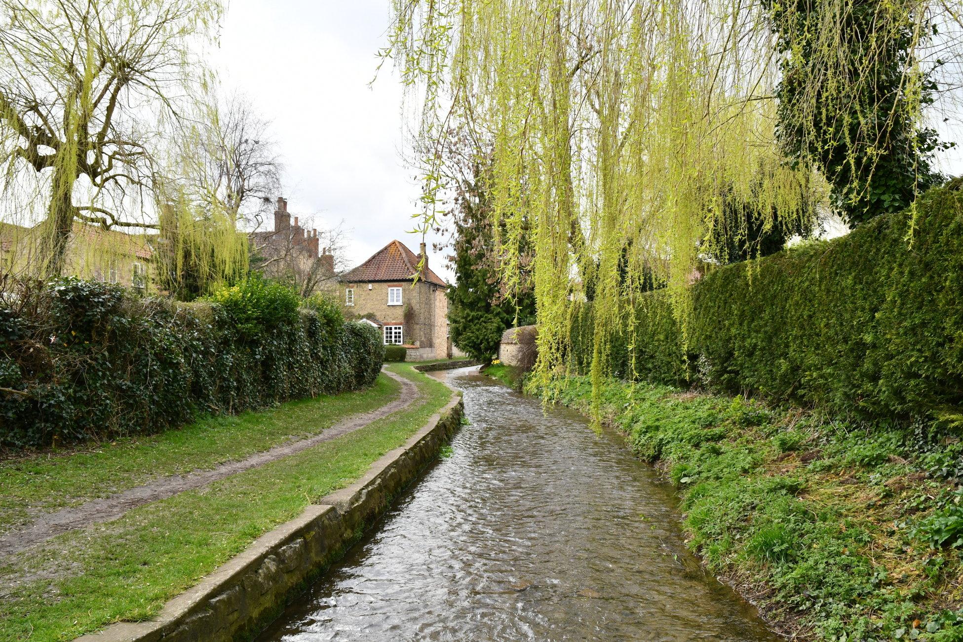 Stream Through The Village