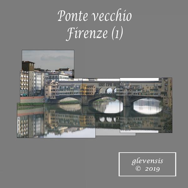Ponte vecchio, Firenze (1) by glevensis