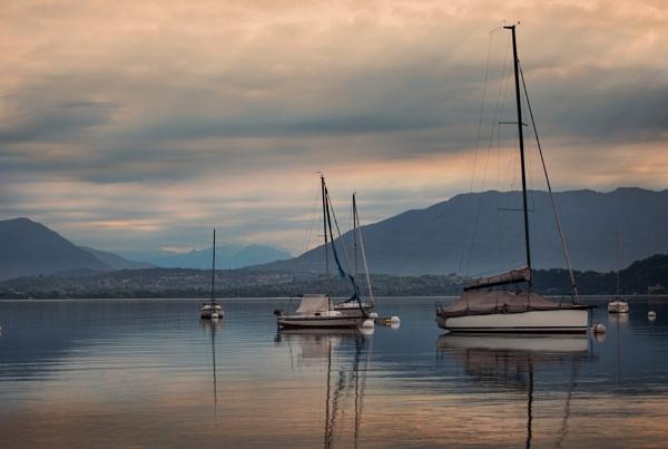 Serenity on Lake Garda by sandwedge