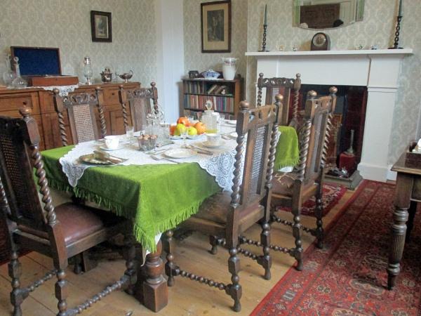 The Dining Room at Skeldale House by Hurstbourne