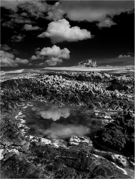 Bamburgh Castle by Dixxipix