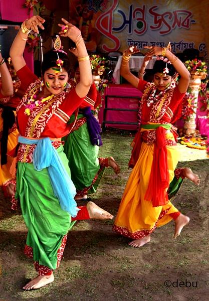 Basant Utsav for Holi(the Festival of colors)..2 by debu
