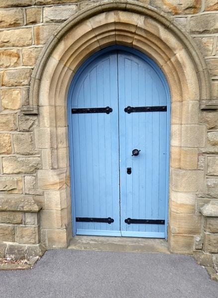 A Blue Door. by Gypsyman