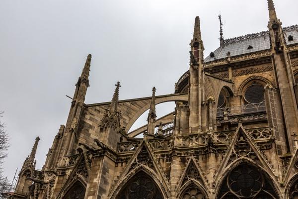 Notre-Dame de Paris exterior by rninov