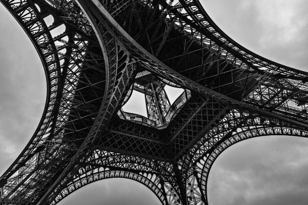 Details from Eiffel Tower by rninov