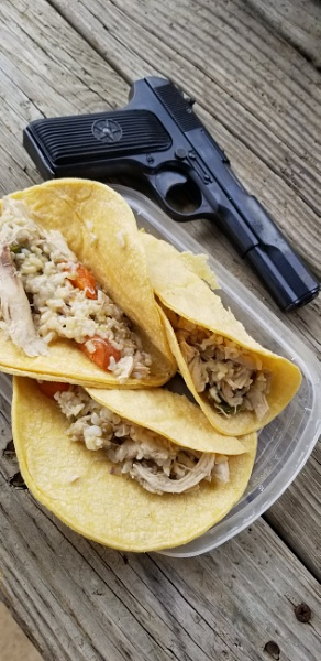 Chicken tacos. by lude69dotcom