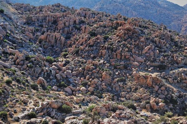 Rocky desert by pedromontes