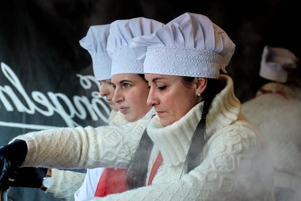 Food trade at Kaziukas Fair by LotaLota