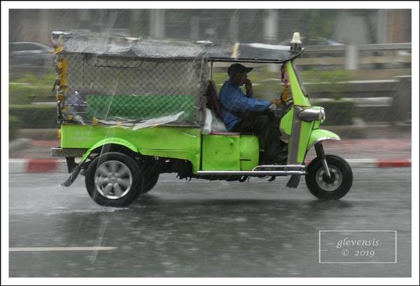 Tuk-tuks in The Rain (3 of 12) by glevensis