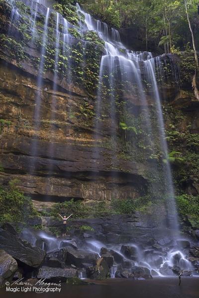 Gap Creek Falls by kmorgan3