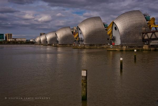 Thames Barrier Again by Stephen_B