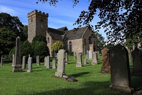 cramond church by callumcorrie