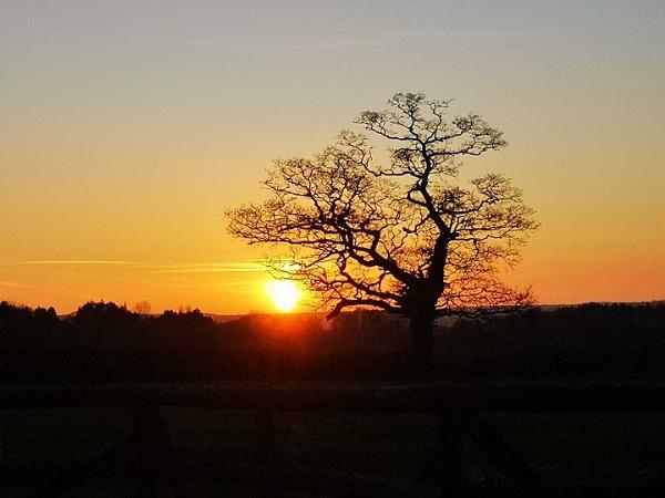 sun set by theroadruner