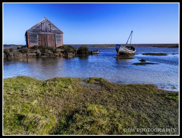 Thornham Old Docks by Dwaller