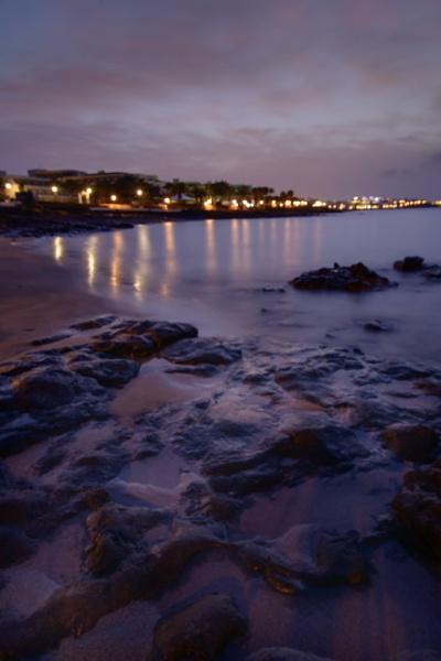 Sunrise in Playa Blanca by mmart