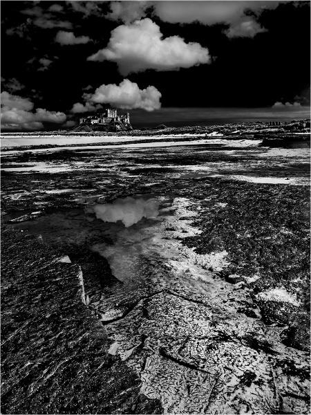 Bamburgh Castle Version 2 by Dixxipix