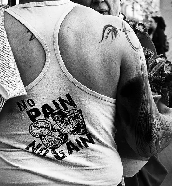 NO PAIN - NO GAIN by hobbo