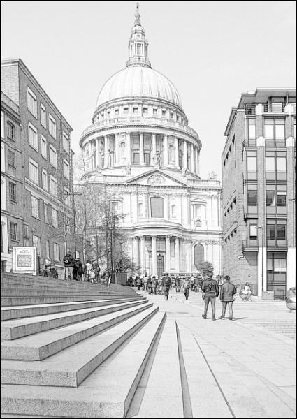 St Pauls - London by jimobee