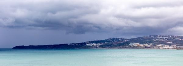 Coast, sea and dramatic sky by rninov