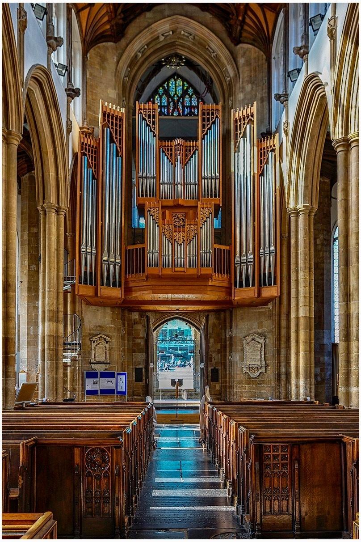 Organ pipes St Peter Mancroft (Norwich)
