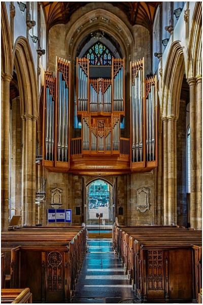 Organ pipes St Peter Mancroft (Norwich) by davebk