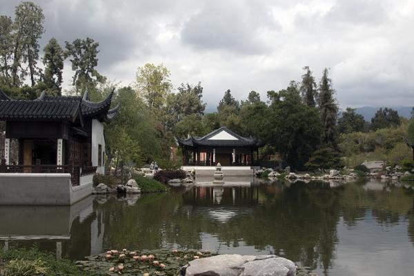 Chinese Gardens at Huntington Library Botanical Gardens CA by Janetdinah
