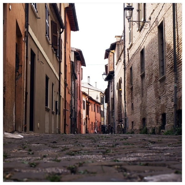 the alleys of Fano by bliba
