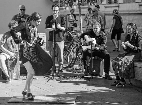 Street Flamenco, Seville. by sandwedge