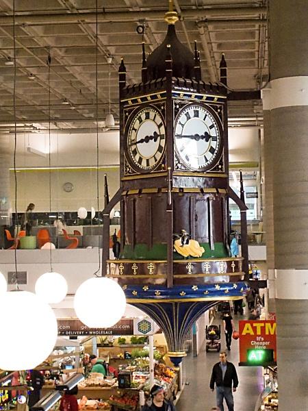 the Birks Clock or HAMILTON\'S FARMER\'S MARKET 2-3 by TimothyDMorton