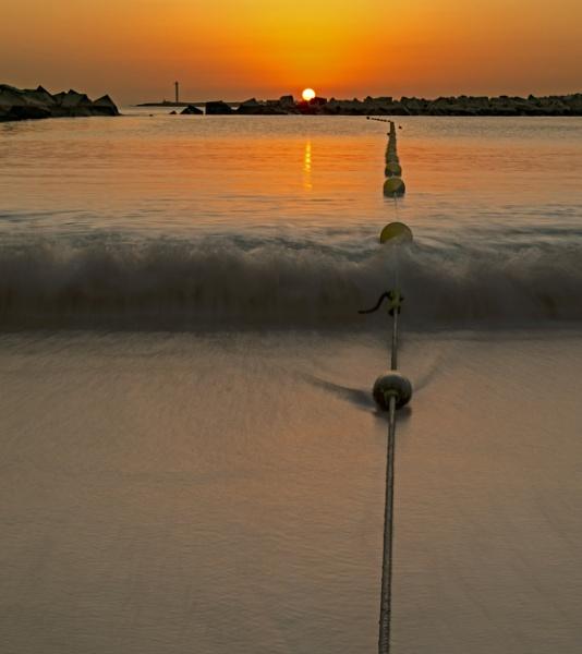 Sunset At Playa Blanca by mmart
