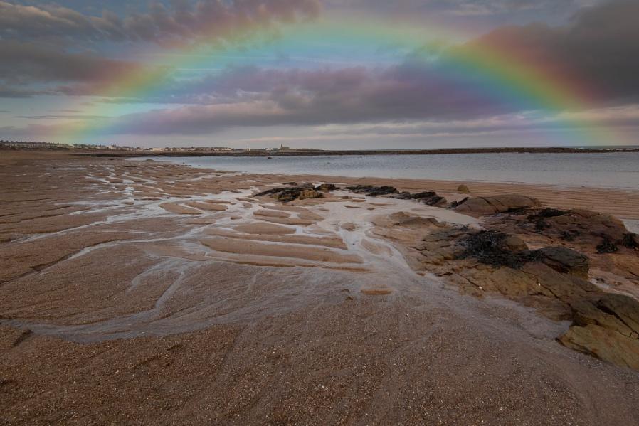 Rainbow over Newbiggin