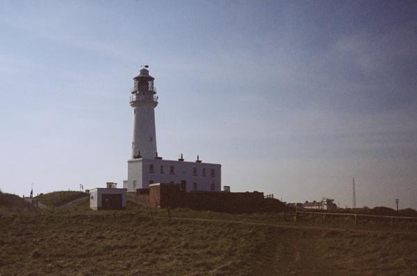 Retro Lighthouse by Alan_Baseley