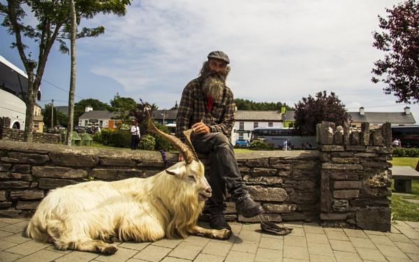 Me & My Goat by Irishkate
