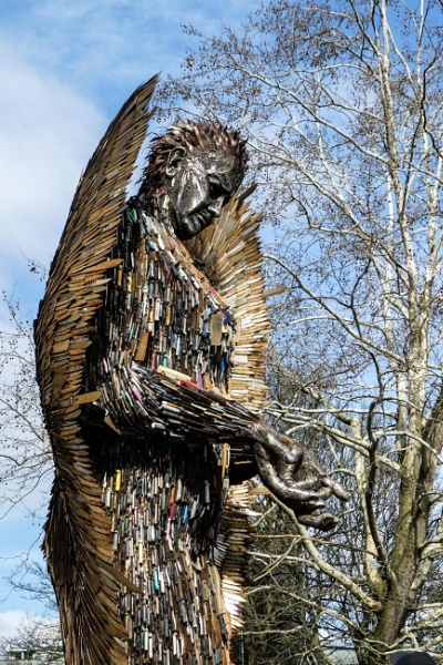 The Knife Angel by Weasellady
