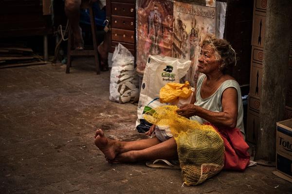 The Potato Seller by david deveson