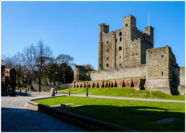 Rochester Castle by Nikonuser1