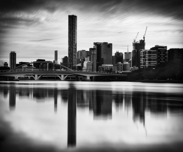 Before Rush Hour, Brisbane River, Queensland by BobinAus