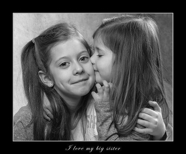 Sibling Love by r0nn1e