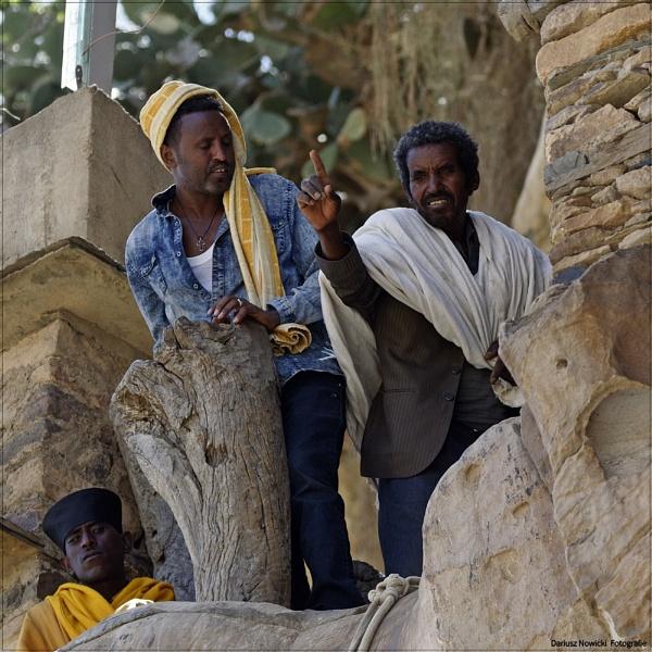 Debre Damo . Monastir. Ethiopia by papajedi