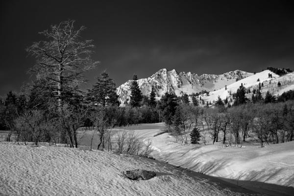 Mountain dawn by mlseawell