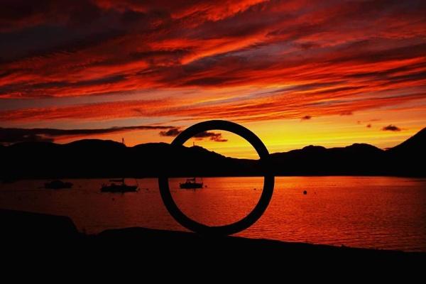 Holy Loch Sunset by stokesy