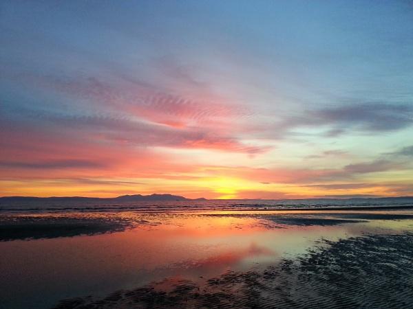 Sunset of scotland