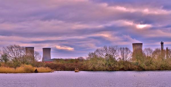 Early spring on Charlton\'s pond Billingham. by georgiepoolie
