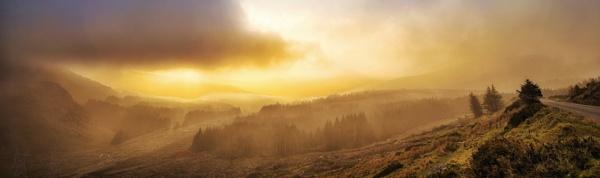 Sunset panorama by Derek897